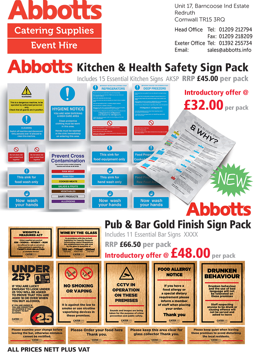 SIGNS CATALOGUE