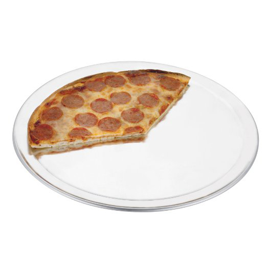Aluminium Flat Wide Rim Pizza Pans & Racks