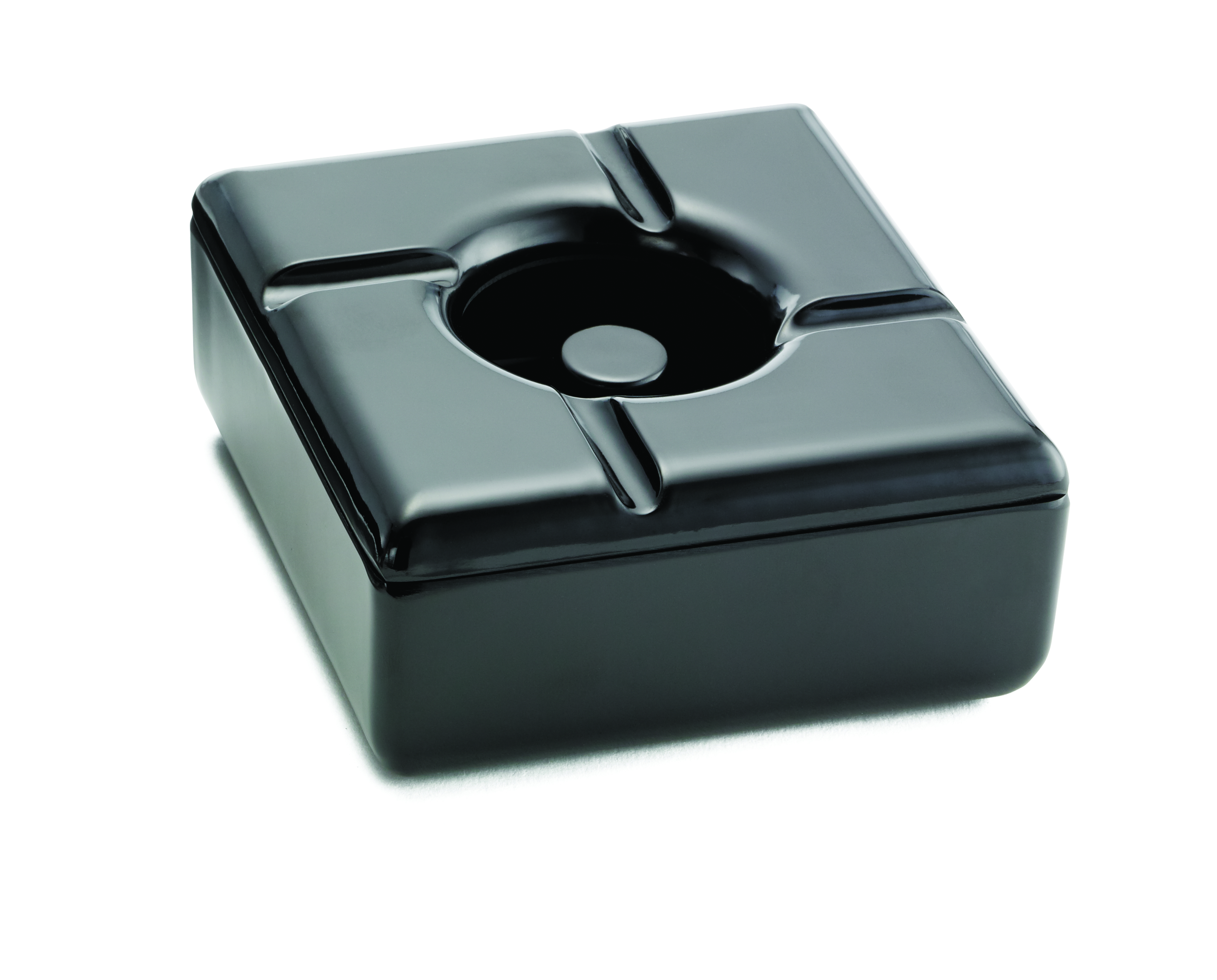 "WINDPROOF 5.75""  ASHTRAYS BLACK"