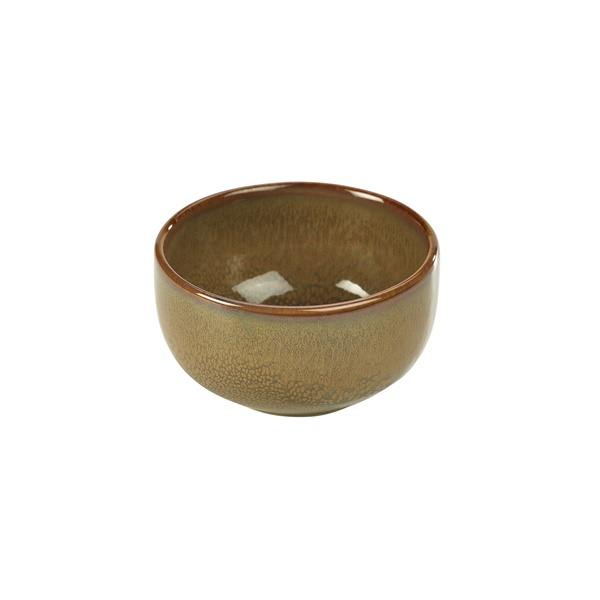 TERRA STONEWARE- RUSTIC BROWN ROUND BOWL 11.5cm - BW-BR11