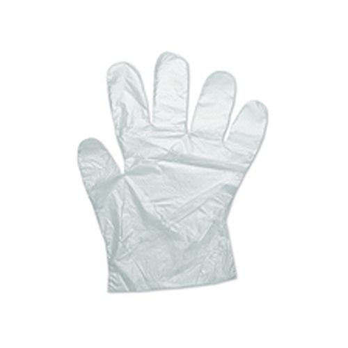 PLASTIC POLYTHENE GLOVES 100 PER PACK