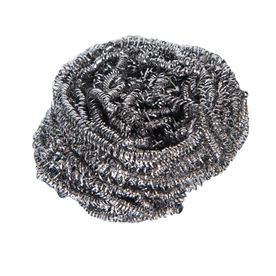 STAINLESS STEEL METAL SCOURERS 40g pk of 10