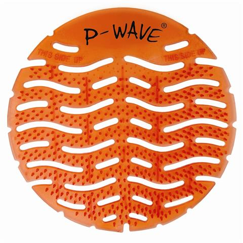 P-WAVE URINAL DEODORIZER SCREENS MANGO ( PACK OF 10 )