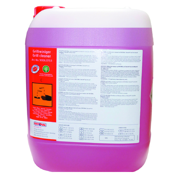 COMBI  OVEN GRILL CLEANING AGENT  10 Litre   (RED/PINK)