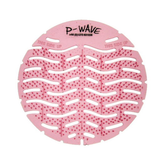 P-WAVE URINAL DEODORIZER SCREENS SPICE APPLE (PK OF 10)