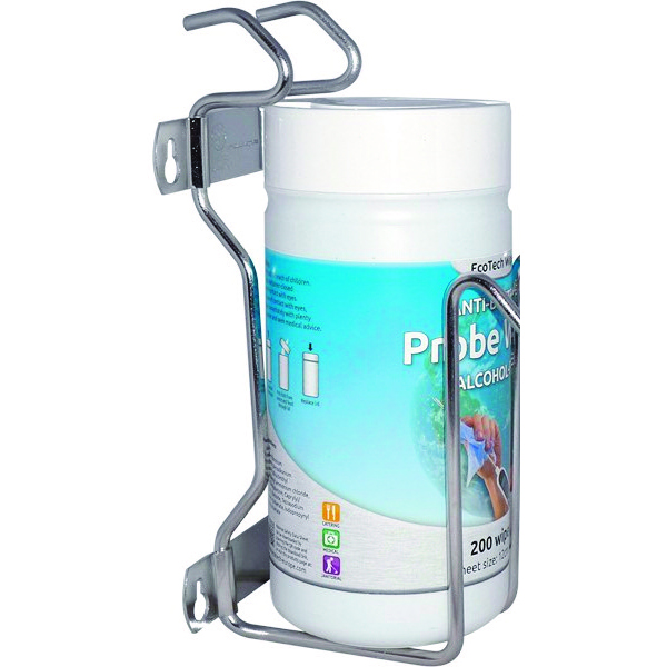 WALL MOUNTING BRACKET TO SUIT ANTI - BACTERIAL PROBE WIPES