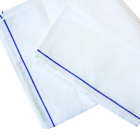 WHITE WAITERS CLOTH WITH BLUE LINE   EACH