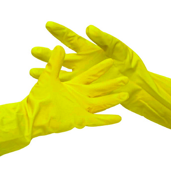 YELLOW X. LARGE GEN/PURPOSE RUBBER GLOVES   PER PAIR