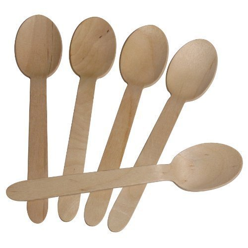 BEECHWOOD WOODEN TEA SPOONS CASE OF 100