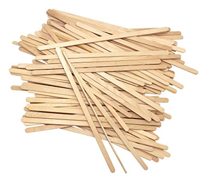 "5.5""  140mm WOODEN STIRRER CASE OF 1000"