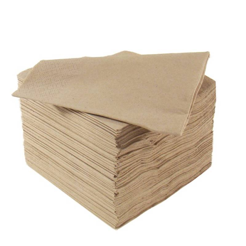 POPPIES 40/2 8 FOLD RECYCLE NAPKINS per 1000